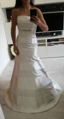 Svatební ivory šaty s vlečkou Maggie Sottero